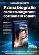 Lansare biografie Dumitru Prunariu