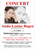 Concert Anda-Louise Bogza