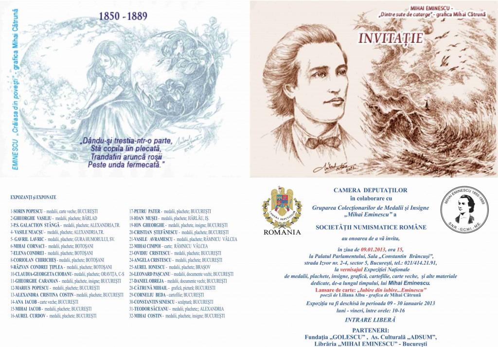 Vernisaj Mihai Eminescu