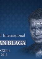 """Festivalul Internaţional """"Lucian Blaga"""""""