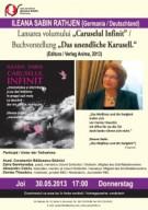 "Lansare ""Caruselul Infinit"" Ileana Sabin Rathjen"