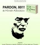 Lansare de carte – Pardon, '80! de Mircea Albulescu