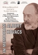 In memoriam Albert Kovacs